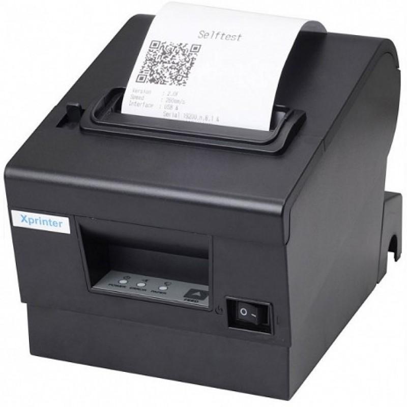 Máy in nhiệt Xprinter XP-Q200 (USB+RS232) Là dòng máy in hóa đơn, giá rẻ, khổ giấy 80mm  Phù hợp cho mô hình shop, siêu thị, nhà hàng, caphe, bệnh viện....